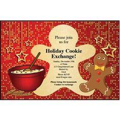 Cookie Exchange Invite