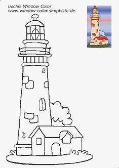 Leuchtturm-Vorlagen