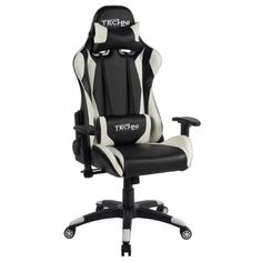 Black Techni Sport Office-PC Gaming Chair, Multiple Colors