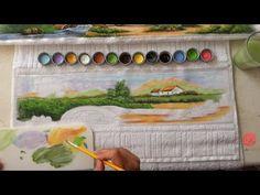 Paisagem em Toalha de Rosto (Parte 1/ Aula 12) - YouTube