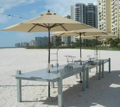 """Barefoot Elegance Whether you're after a """"Tommy Bahama"""" look and feel, or perhaps a """"Nikki Beach"""" ambiance, this versatile set of décor can cinch the concept. Nikki Beach, Key West, Patio, Buffets, Elegant, Outdoor Decor, Events, King, Home Decor"""