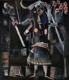 George Dunne-The Date Street Gallery, People Talk, Painting, Art, Art Background, Painting Art, Kunst, Paintings, Performing Arts