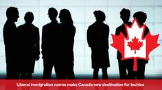 Canada is the preferable destination for Indian venture capitalists and techie entrepreneurs, as US tech visas are getting difficult for them.