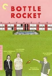 Bottle Rocket (1996) ... Anthony (Luke Wilson) has just been released from a mental hospital, only to find his wacky friend Dignan (Owen C. Wilson) determined to begin an outrageous crime spree. After recruiting their neighbor, Bob (Robert Musgrave), the team embarks on a road trip in search of Dignan's previous boss, Mr. Henry (James Caan). But the more they learn, the more they realize that they do not know the first thing about crime. (31-Aug-2017)