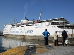 Το τελευταίο ταξίδι του ημιβυθισμένου πλοίου Παναγία Τήνου