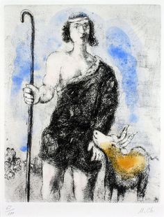 Marc Chagall - The Young Shepherd Joseph - Haggerty Museum