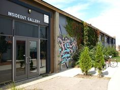 InsideOut Gallery Traverse City, MI Edgy repurposed sculpture and visceral pop art to turn your mind inside out!
