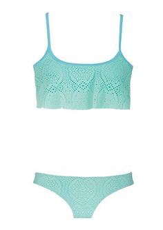 This is my absolute favorite color and my absolute favorite swim suit style. I bought two of these tops while in Vegas. JI