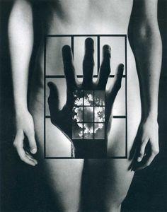 Jerry Uelsmann #photomontage #art #photography fine art nude                                                                                                                                                                                 More