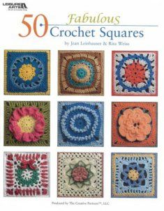 This book contains a wonderful collection of 50 innovative square designs which will quickly become a much-used volume in your personal crochet library. Whether you are looking for a colorful square for a child's afghan, a square suitable for your favorite man, or a dramatic flower design, you'll find it here.