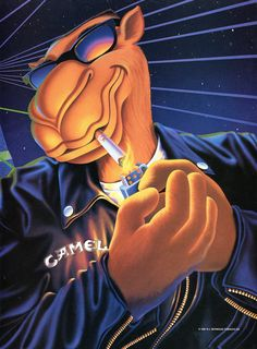 Even anti-tobacco companies had to admit, Joe Camel was a cool looking dude.