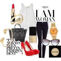 pop of colour Color Pop, Colour, Casual Party, Classy And Fabulous, Vogue, Shoe Bag, My Style, Pretty, Polyvore