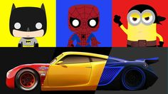 Cars 3 Races – Lightning McQueen vs Cruz Ramirez and Jackson Storm with ...