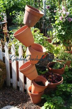 Nifty garden ideas.