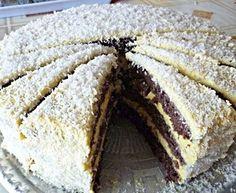 Zdravá fitness kokosová torta: Vždy keď máme s kamoškami oslavu, tak ju pripravujem. Nepriberieme ani gram a vždy sa zje celá!