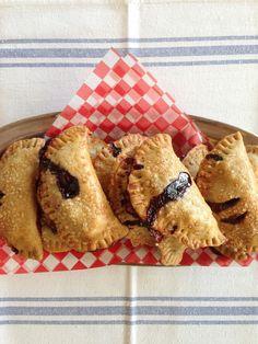 Wild Blueberry Handpies. Creemore Kitchen.