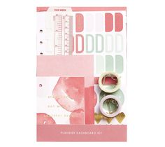 Share the Planner Love with this gorgeous Large Dashboard Kit, perfect for helping you get creative and customise your Planner.…