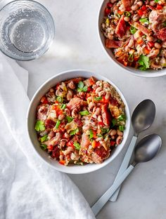 Use your instant pot to make a Hoppin' John dish that is so hearty and flavorful, the promise of luck when eaten on New Years is merely...