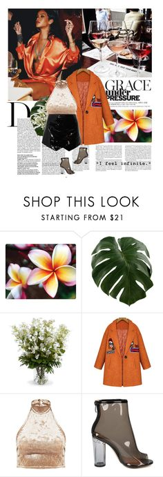 """06/03/2017"" by dunoni ❤ liked on Polyvore featuring New Growth Designs, GET LOST and Wallflower"