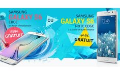 A GAGNER : un smartphone Samsung Galaxy S6 Edge