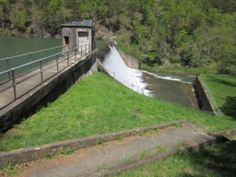 This historic engineering marvel allows hikers & fishers access year-round, if you know where to find it in the National Forest!