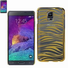 $8.99 Reiko Zebra Print Transparent Case Samsung Galaxy Note 4 N910V/N910P/N910T/N910R4