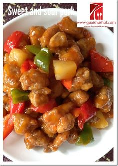 Classic Chinese Sweet And Sour Pork (咕噜肉,咕咾肉、古老肉) #kenneth_goh    #guaishushu #咕噜肉