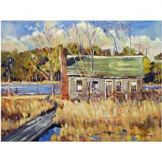Trademark Art The Old Relic Canvas Wall Art by David Lloyd Glover, Size: 18 x 24, Multicolor