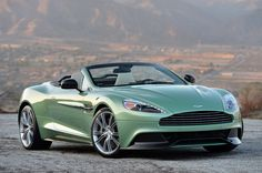 2014 Aston Martin Vanquish Volante - right front qtr