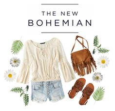 """The New Bohemian with American Eagle Outfitters: Contest Entry"" by webstery ❤ liked on Polyvore"