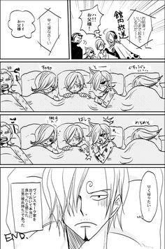 One Piece, Vinsmoke family, Sanji (part 8)