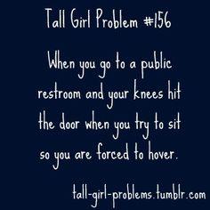 #TallGirlProblems