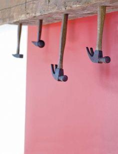 hammer coat hooks