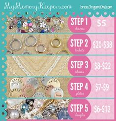 Origami Owl Party | ... Owl Living Lockets ~ Bren Yule: 5 Easy Steps to Create an {Origami Owl