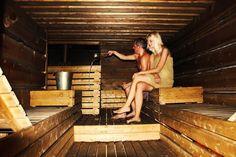 The Finnish sauna is cool