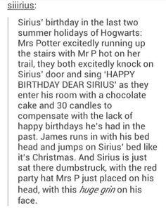 Aww >> Sirius' Bithday is in November...3.November...