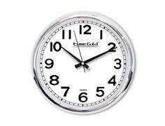 Metalize Duvar Saati  Ürün Bilgisi;  Metalik Plastik Çerçeve Çap 32 cm Mineral Cam Sessiz Akar Saniye