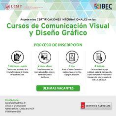 #CertificacionesIBEC | Si eres alumno, docente o egresado de la Universidad de San Martín de Porres puedes acceder a los precios promocionales para nuestros cursos de certificación en diseño gráfico y comunicación visual. ¡Quedan pocas vacantes!