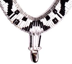 Safety pin necklace from Vena Cava NYC / Design for Mankind