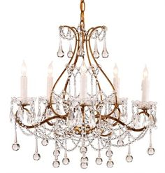 Paramour Chandelier Lighting | Currey and Company