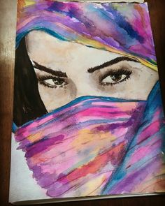 Hadassah in watercolour