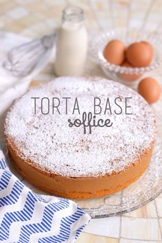 Torte Cake, Cake & Co, Biscotti, Bakery Cakes, Something Sweet, Italian Recipes, Sweet Recipes, Delicious Desserts, Breakfast Recipes