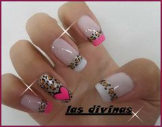 Trabajos muy lindos de LAS DIVINAS SPA... Dignos de compartir. My Nails, Nail Designs, Hair Beauty, Nail Art, Animal, Designed Nails, Work Nails, Enamel, Fairy
