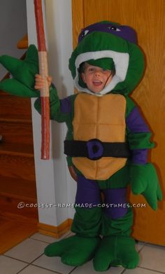 62 best ninja turtle costume ideas images on pinterest halloween coolest throwback teenage mutant ninja turtle costume for boy solutioingenieria Image collections