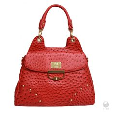 """Discover Your Luxury Bag of the Year Ostrich Print-Faux Leather """"Stingray"""" Bag This strikingly beautiful Ostrich Print faux leather purse, the FERI Italian Leather, Vegan Leather, Leather Purses, Leather Wallet, Selling On Pinterest, Luxury Bags, Black Handbags, Luxury Jewelry, Purse Wallet"""