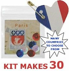 World Thinking Day -- View Mini Bag Country SWAP