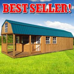 Best Derksen Portable Deluxe Lofted Barn Cabin Freedom 640 x 480
