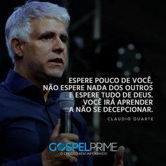 Resultado De Imagem Para Frases Pastor Claudio Duarte Fé