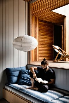 A Rugged Coastal Home By Kennedy Nolan (The Design Files) Timber Benchtop, Kennedy Nolan, Melbourne, Timber Ceiling, Timber Windows, Interior Architecture, Interior Design, Australian Architecture, Residential Architecture