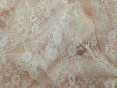 Pale Pink Lace Fabric